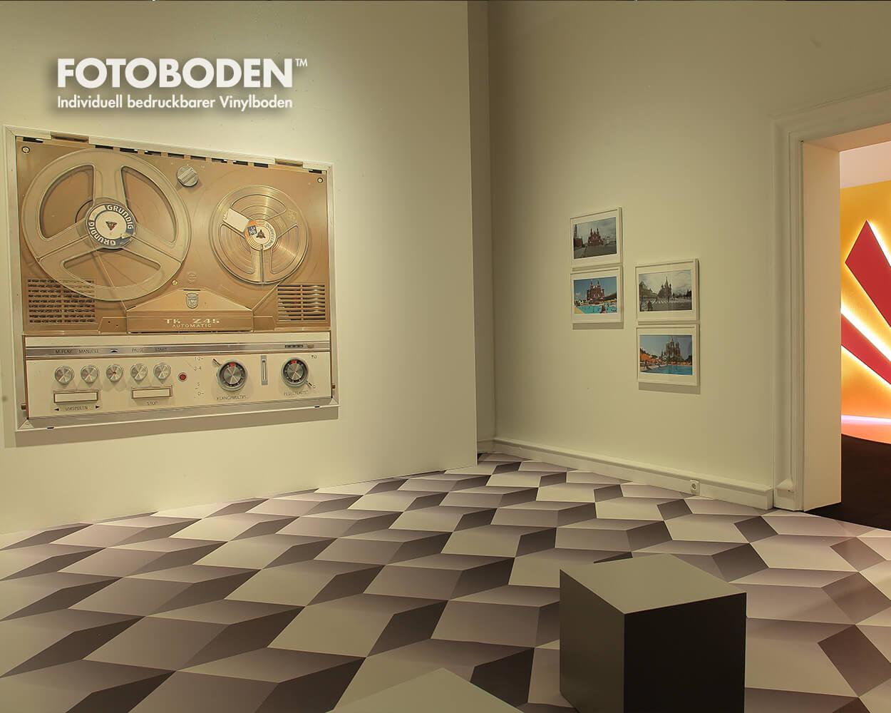 Ausstellungsboden FOTOBODEN™ Museumsboden