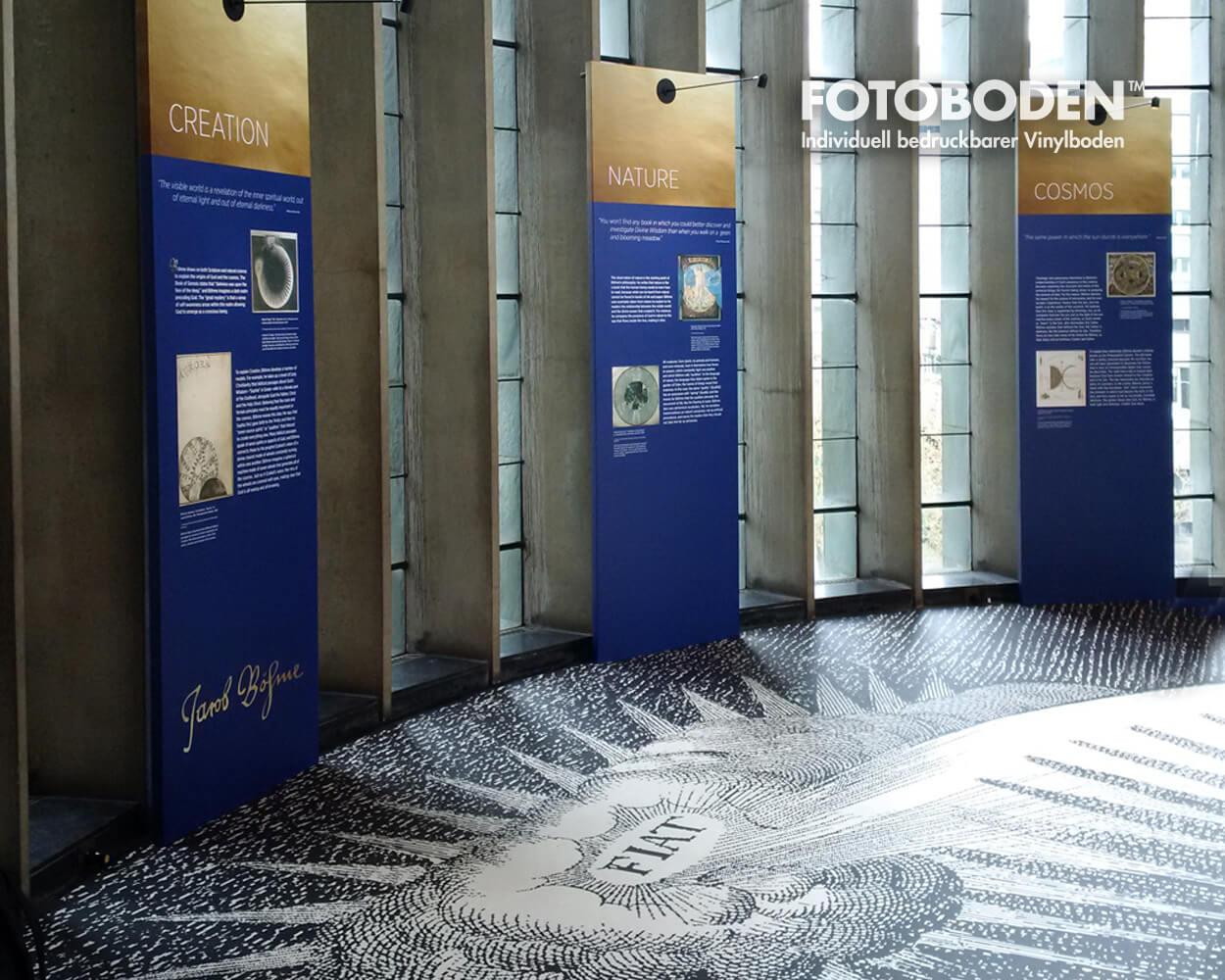 Museumsboden Ausstellungsboden