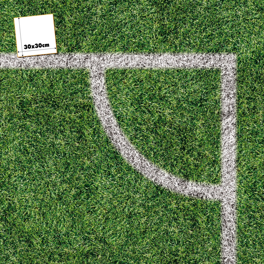 Fußballrasen Muster