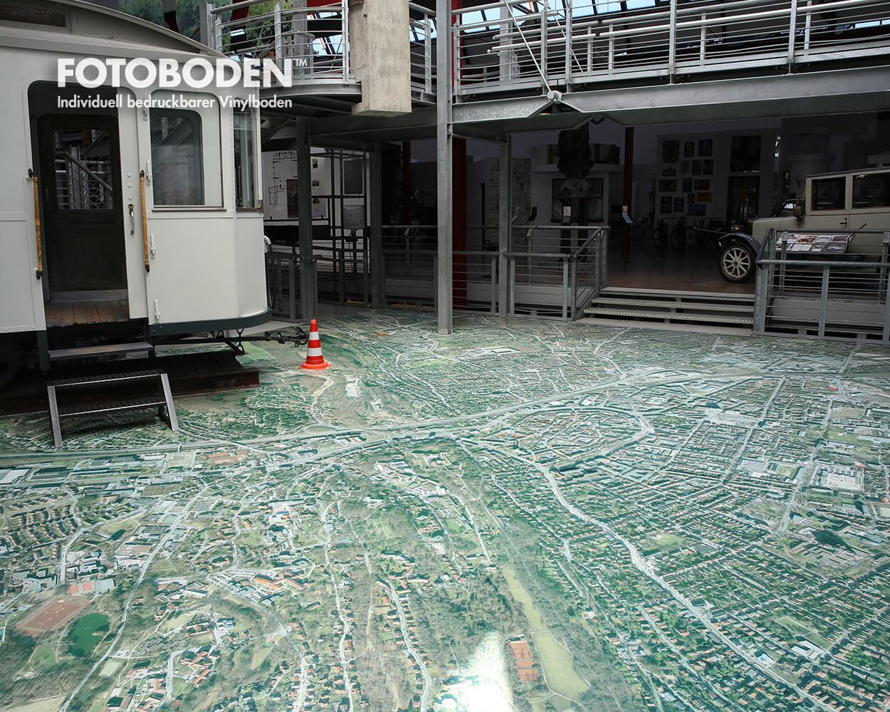 Ausstellungsdesign Museumsboden Fotoboden
