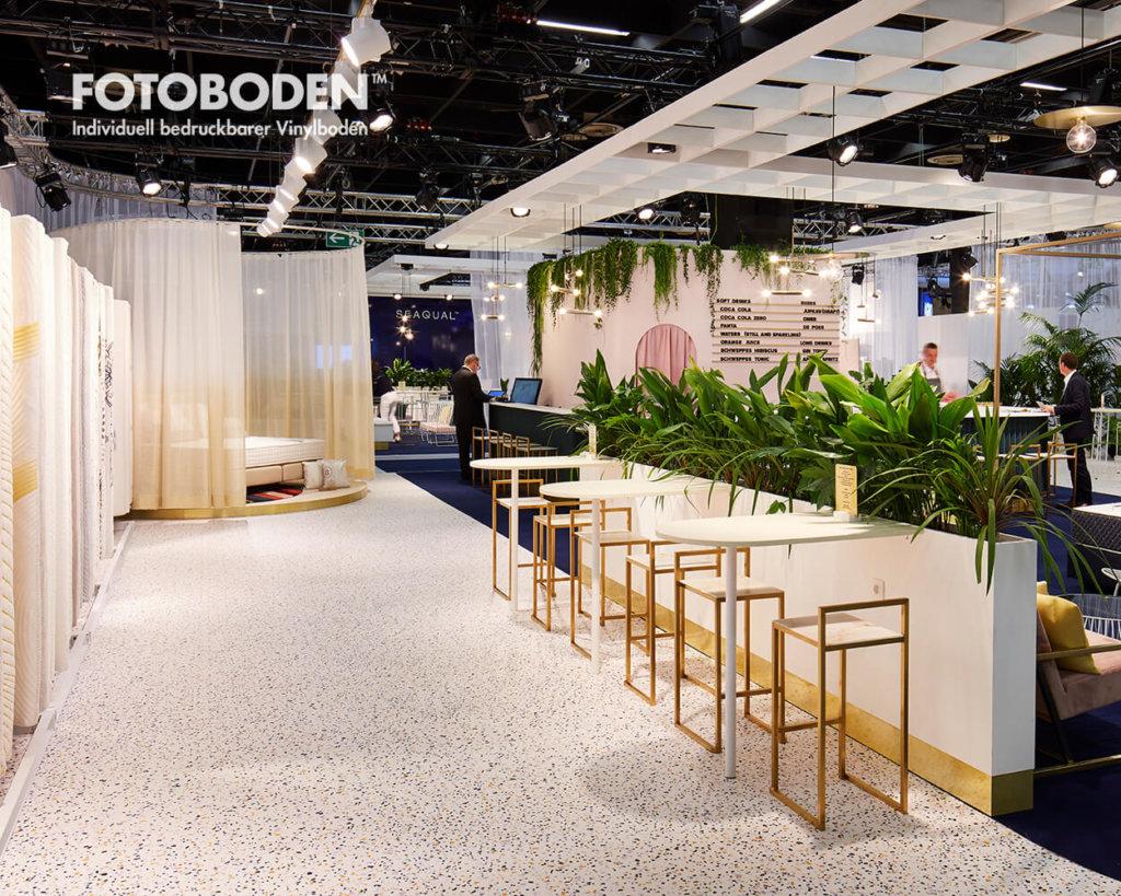 Tradeshow Flooring Bodengestaltung Vinylboden PVC