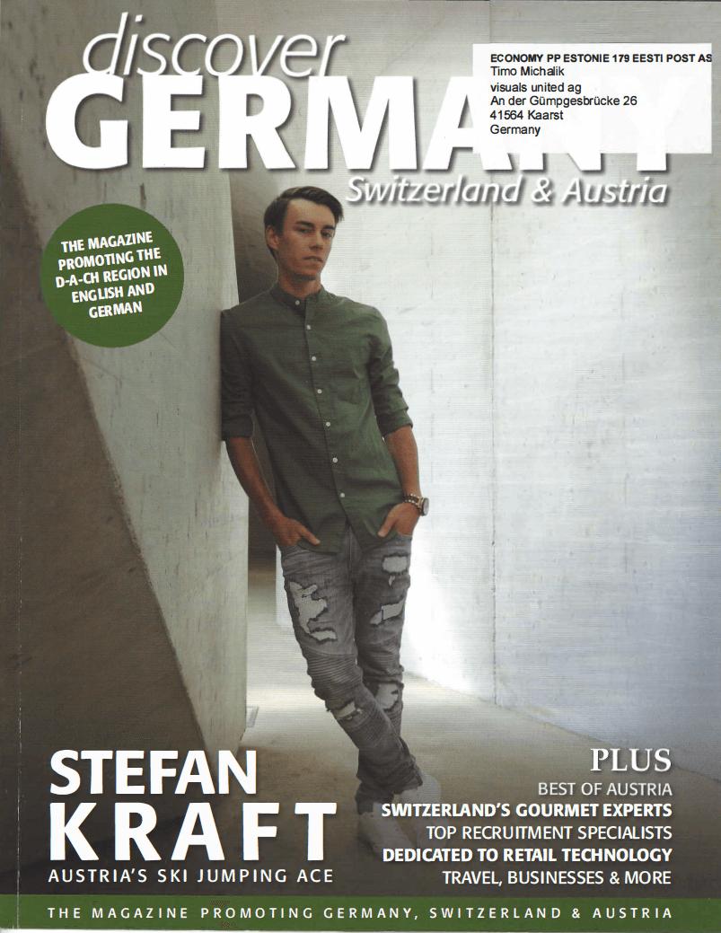discover Germany Zeitschrift