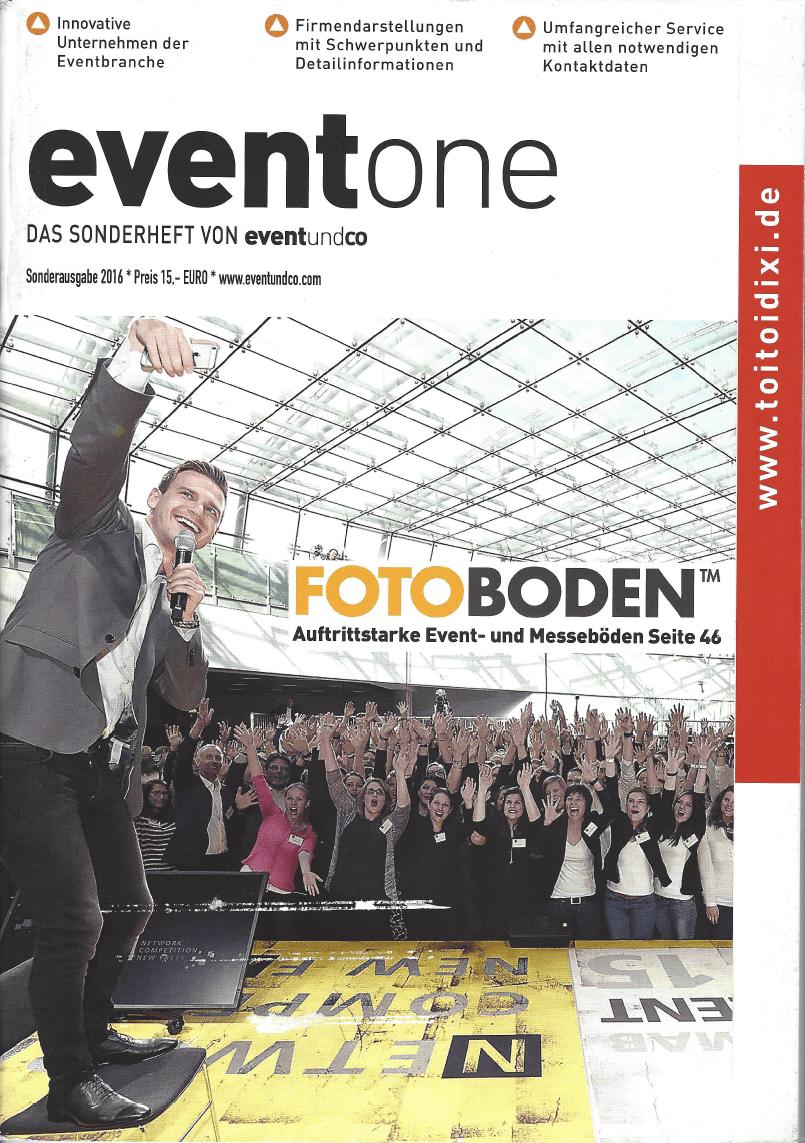 eventone Zeitschrift
