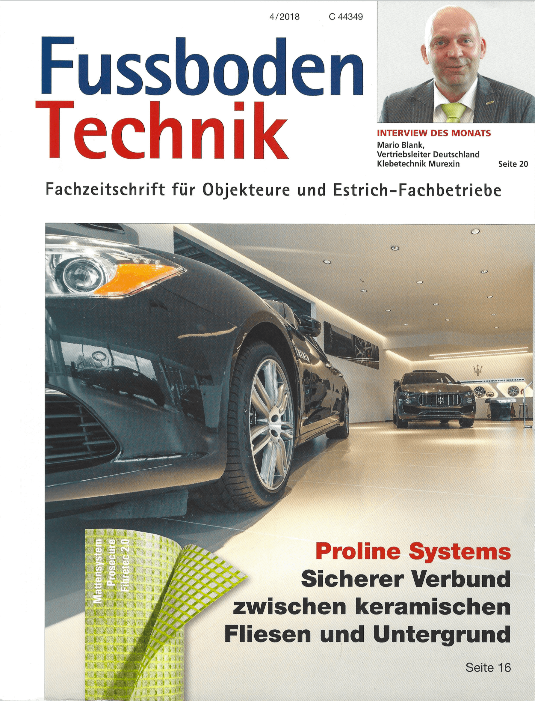 Fussboden Technik Zeitschrift