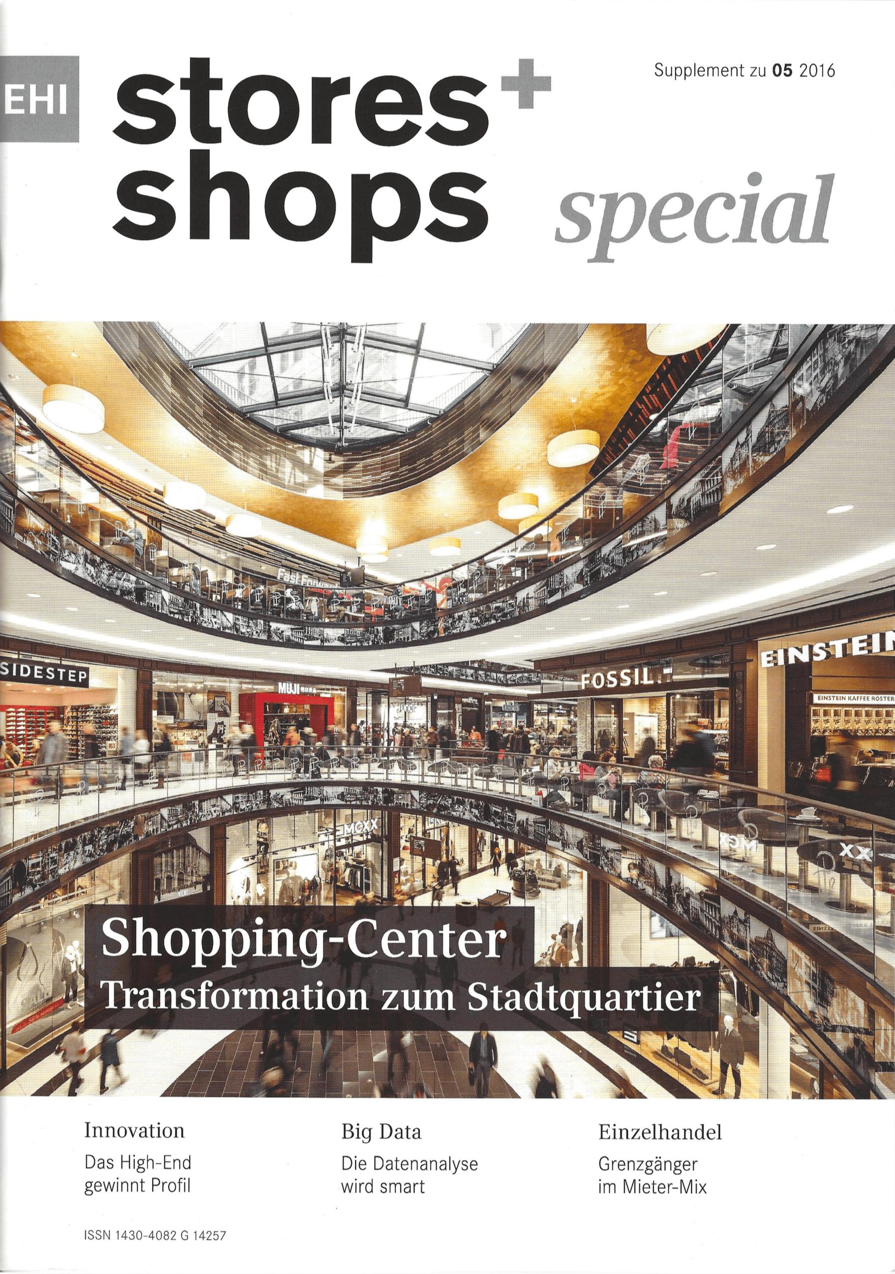 stores + shops Zeitschrift