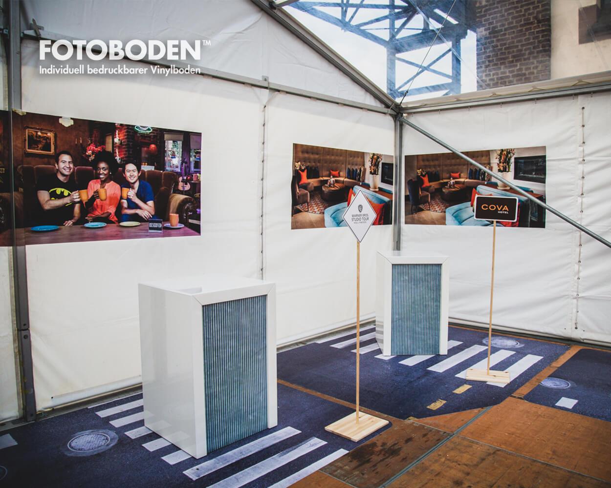 Ausstellungsboden Raumkonzept Messeboden