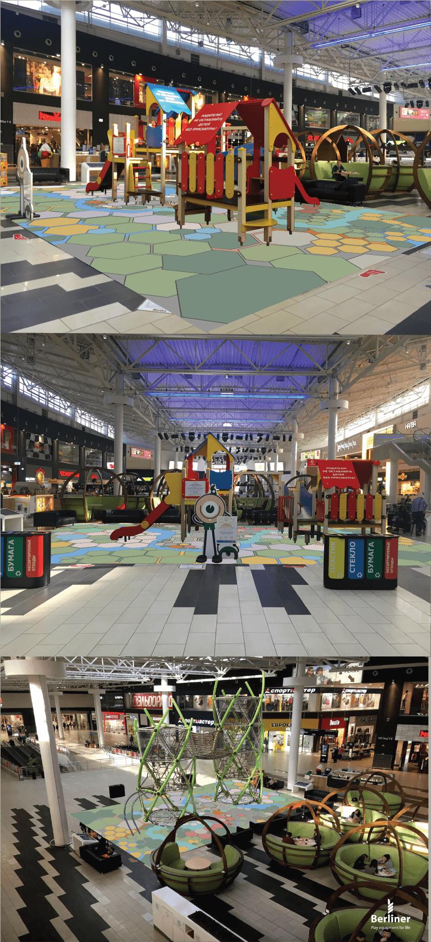 Inder Kinderspielplatzboden FOTOBODEN™ Motivboden