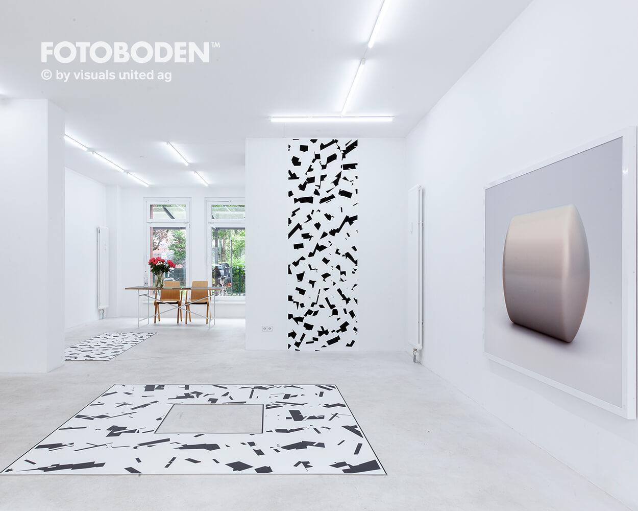 Museumsboden Ausstellungsboden Designboden Raumgestaltung