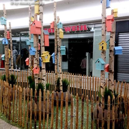 FOTOBODEN™ Grassoptik Ladenbau Indoor