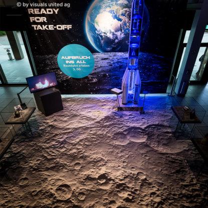 Mondboden FOTOBODEN™ Raumfahrt