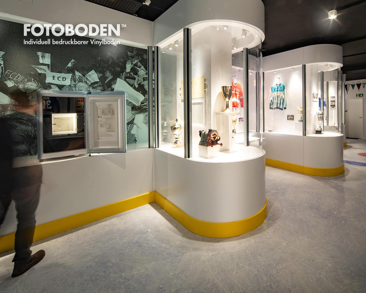 motivboden Ausstellungsboden Museumsboden
