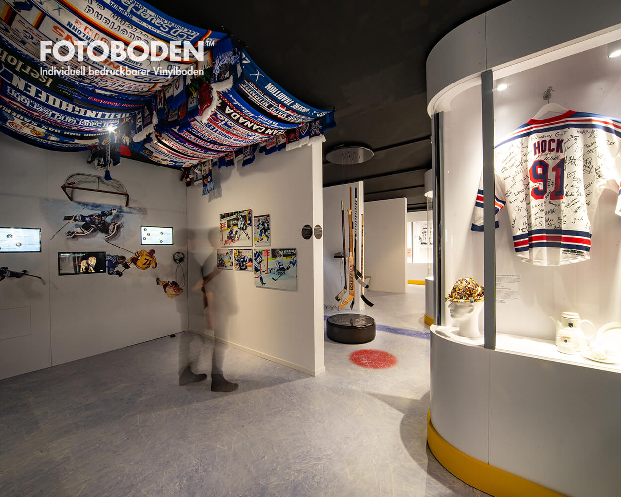 Ausstellungsdesign Museenboden motivboden Raumgestaltung