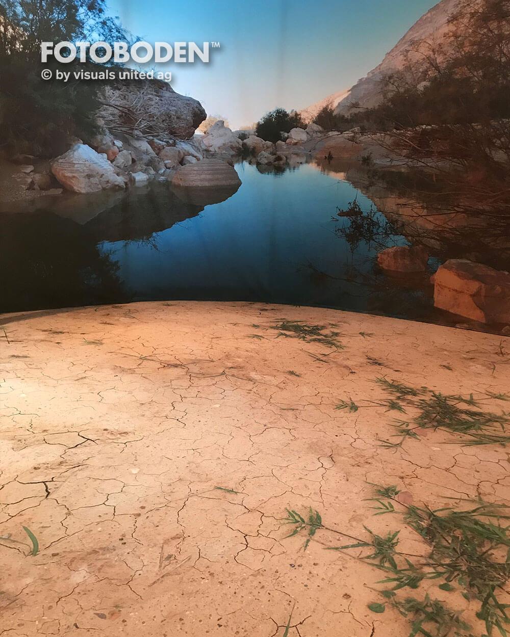 Ausstellungsdesign Sandboden