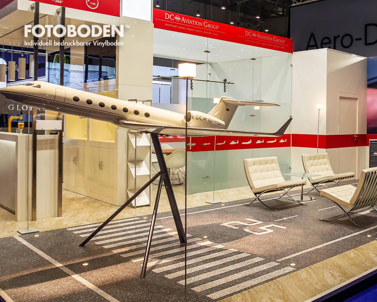 Messe Bodendesign Flooring FOTOBODEN™ Vinyl