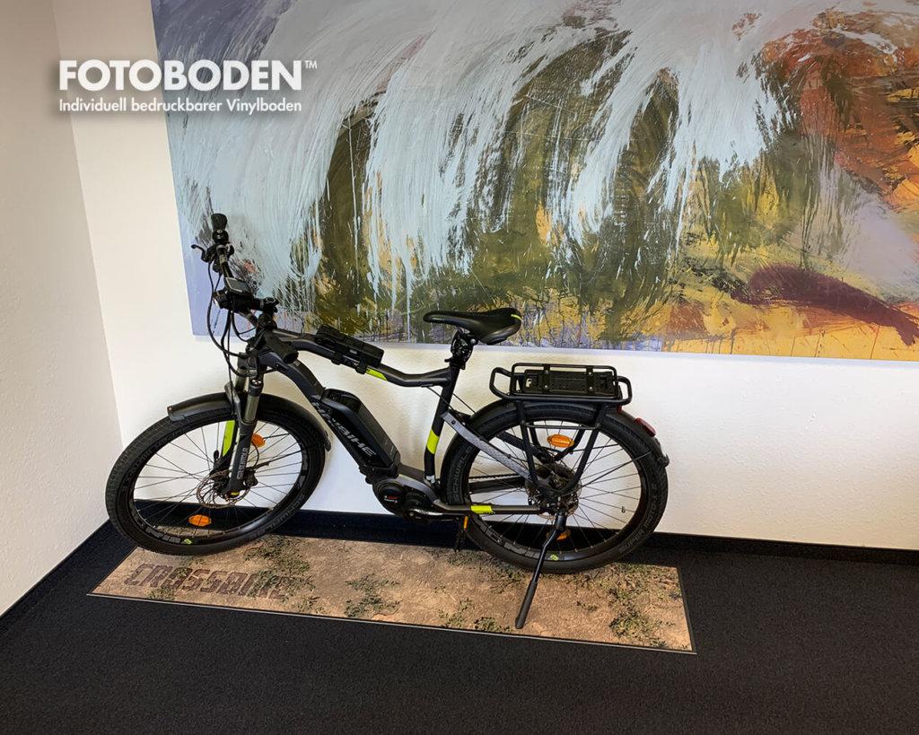 Fahrradmatten Fahrrad Promotion