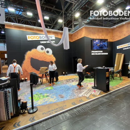 FOTOBODEN™ Messestand Euroshop 2020