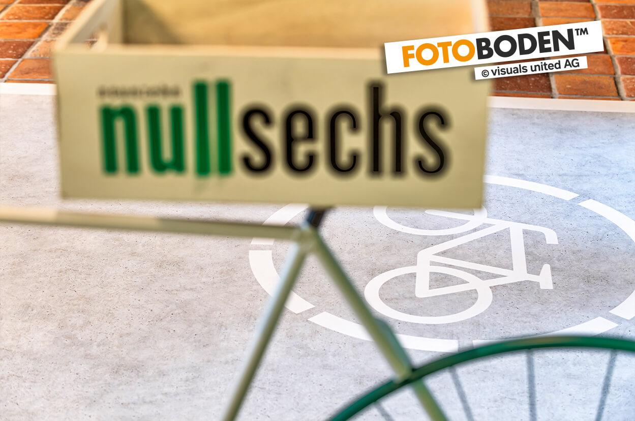 Fahrradweg, Individuell auf FOTOBODEN™ gedruckt.