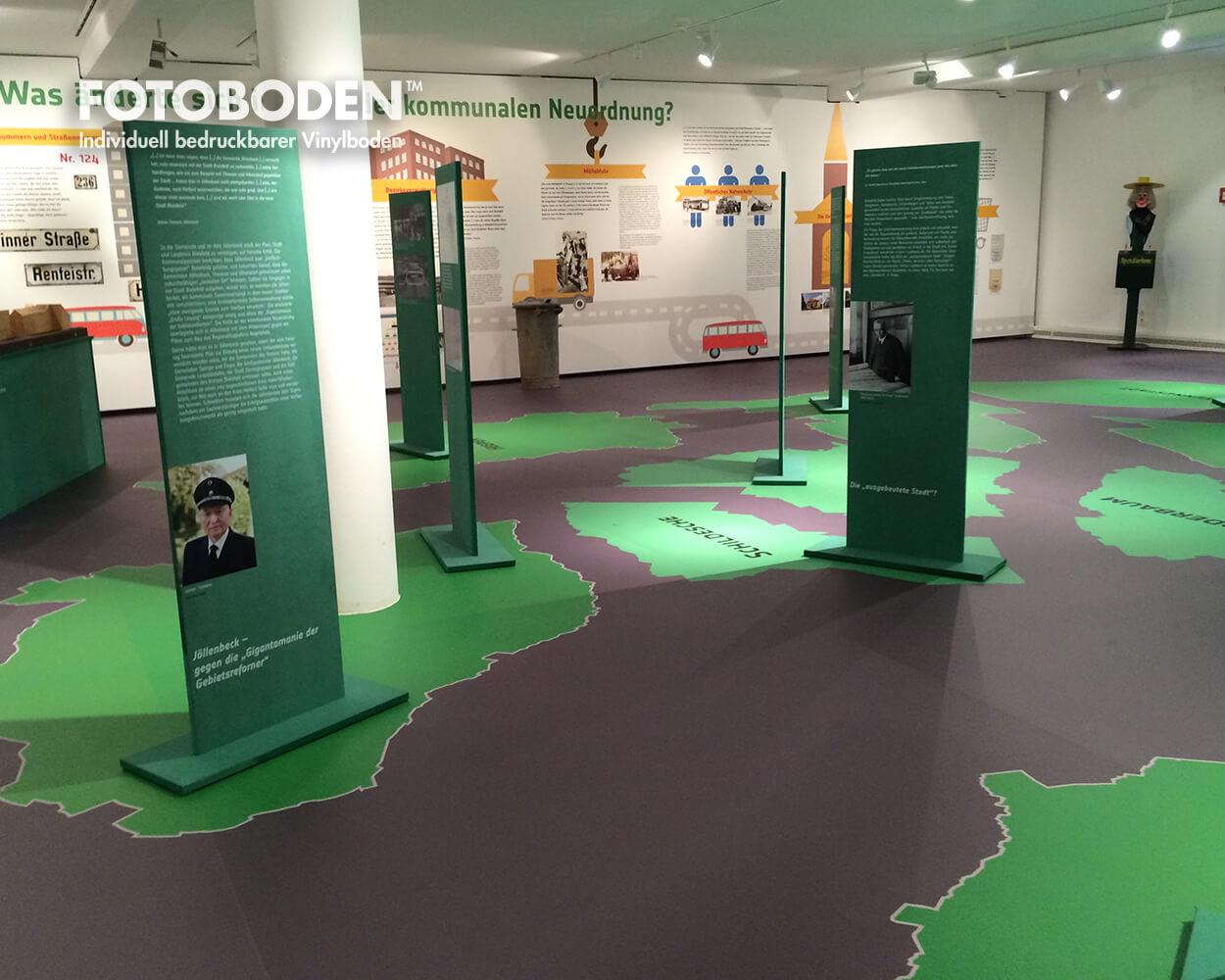 grüne Dörfer Ausstellungsdesigner messeboden