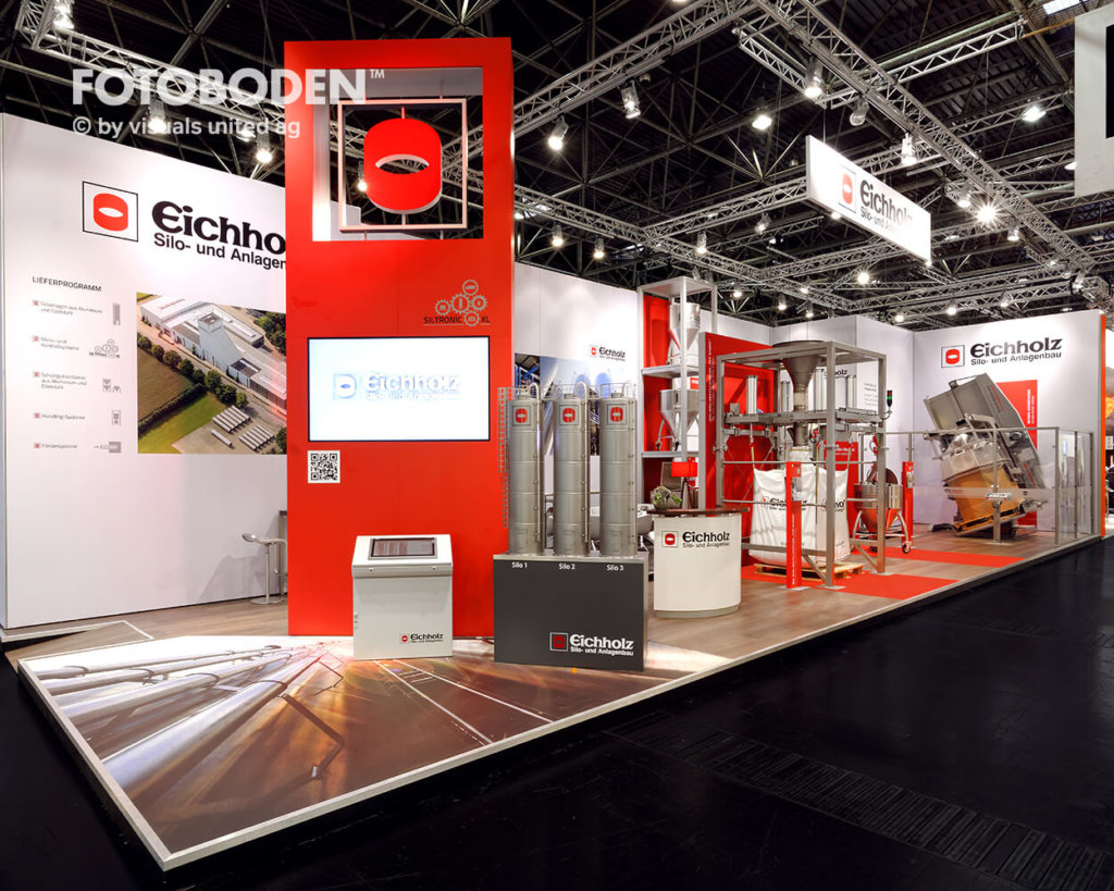 messestand messedesign messeboden