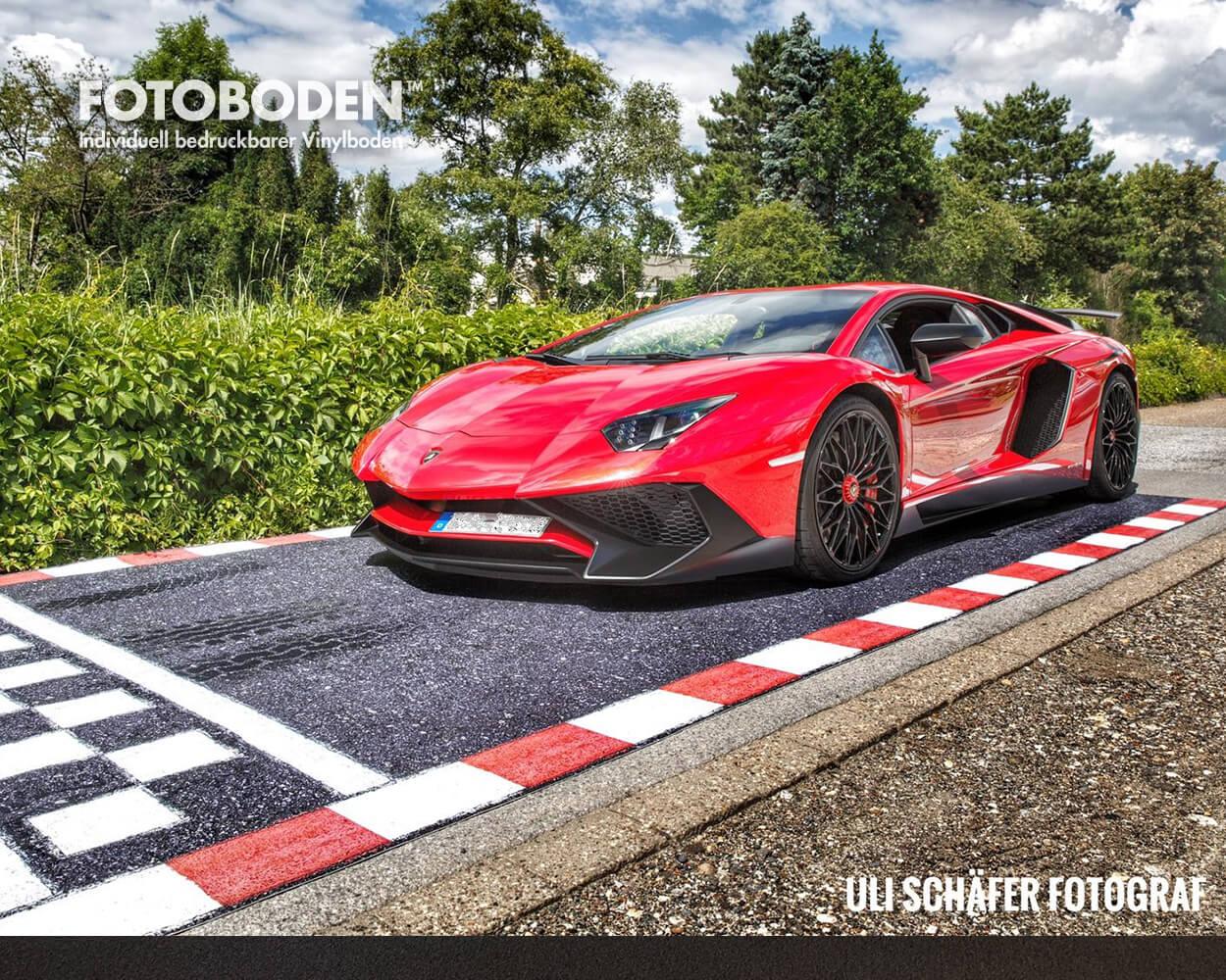 Sportwagen präsentation Rennstrecke