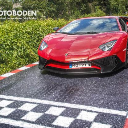 Promo Sportwagen Rennstrecke