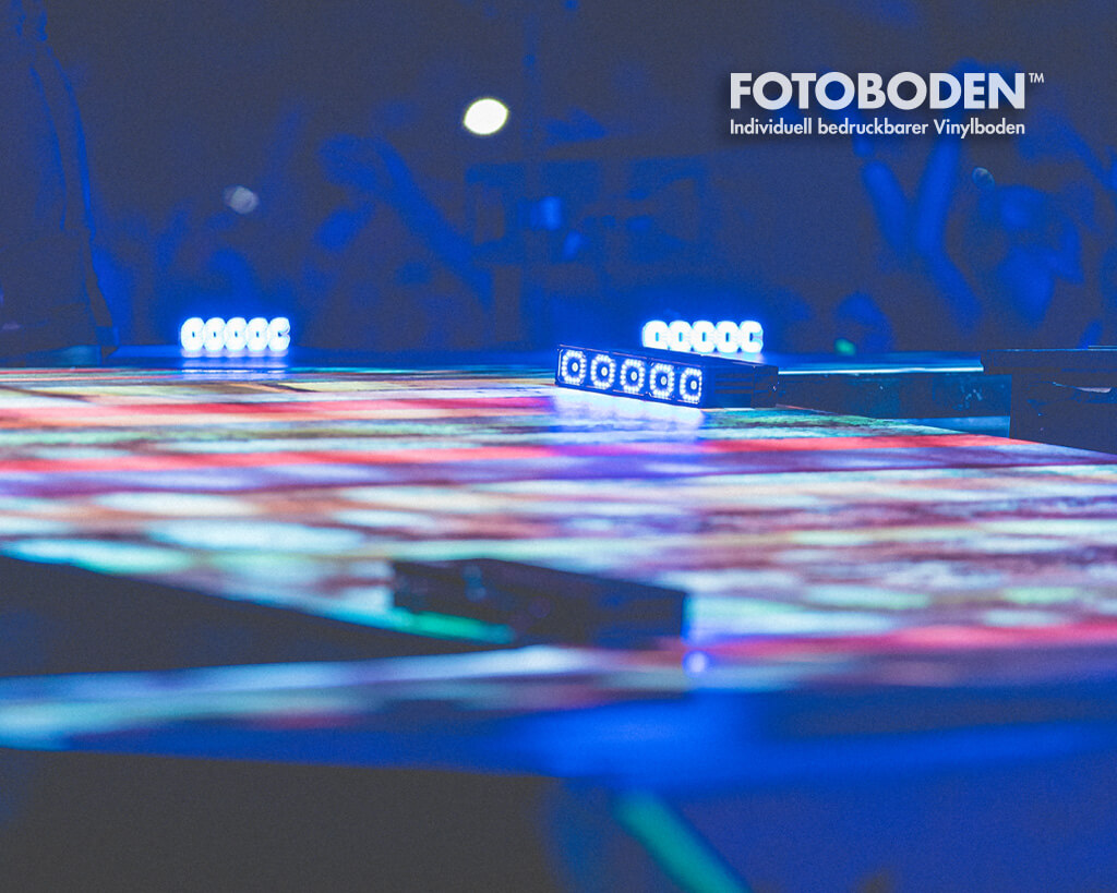 Bühnenboden Konzertboden