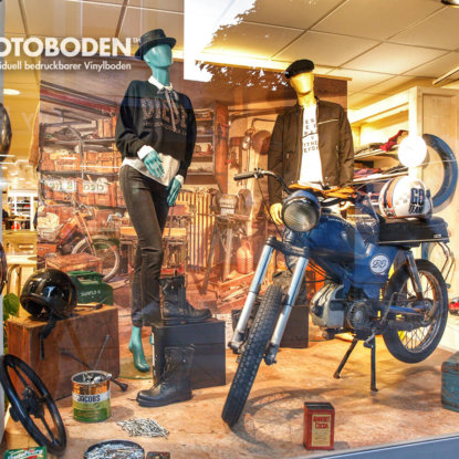Outdoor Schaufenster Deko