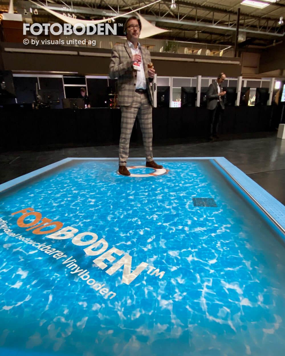 Poolboden 3D Boden Wasserboden